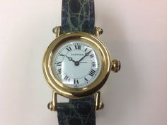 Cartier Diabolo Lady yellow gold Ref.1440 and gold clasp 36mm AU$3,997