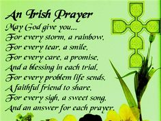 irish blessings and quotes | Patrick's Day, Inspirational Irish Blessings, St. Patrick's Day Quotes ...