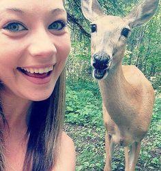 Ridiculously Photogenic Deer