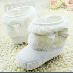 Baby Fur Boots