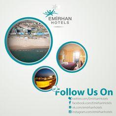 Emirhan Hotels / Follow us on design