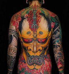Motif souvent utilisé du tatouage japonais : le Yōkai dans Top 12 des plus beaux exemples de tatouage japonais traditionnel