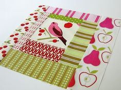 quilt block by Retro-Mama What a unique way to use the Log Cabin pattern. by Kimara