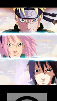 Naruto 632 - Team 7 line/color by me original art by kishimoto sensei hope you all like it Dont forget to comment! XD sakura was awesome this week Naruto 632 - Team 7 Sasuke, Anime Comics, Naruto 6, Awesome Anime, Anime, Sakura And Sasuke, Anime Naruto, Cute Drawings, Manga