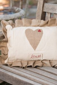 HauteLook | Deck The Halls: Whimsical Holiday Decor: Love Heart Pillow