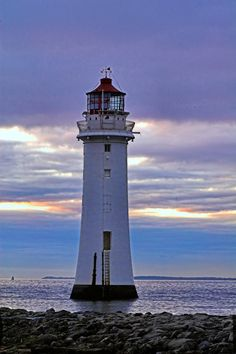 Lighthouse, Merseyside England Copyright: Jim McVey