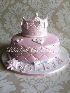Princess Birthday Cake - by BluebellCakeHouse @ CakesDecor.com - cake decorating website