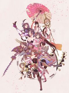 Samurai Warriors Girls