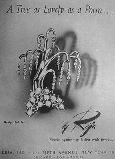 """Reja """"Willow Tree"""" 1947"""