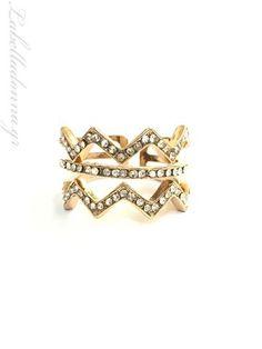 La Bella Donna - Γυναικείο δαχτυλίδι με λευκά ζιργκόν Crown, Jewelry, Fashion, Moda, Corona, Jewels, Fashion Styles, Schmuck, Jewerly