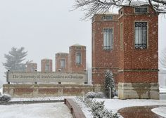 UNC Charlotte in the snow, 2014