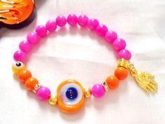 SALE-----EVIL EYE bracelet -Turkish bracelet -Amulet bracelet-Protection bracelet -gypsy bracelet -Bohemian bracelet -Middle East jewelry by Nezihe1 on Etsy