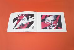 "Book - ""Valery Proust Musée"", Théodor W. adorno by Mira Benjamin, via Behance"