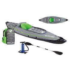 Portable kayak, take it anywhere! Sevylor K5 QuikPak&#153