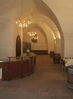 Vague Stelle Lamp in Heidelberg Castle (Germany) -Bd Barcelona Design-