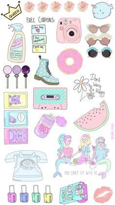 Imagen de background, donut, and overlays