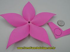 Artesanato flor de eva 13