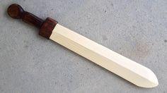 How to Make: Link's Wooden Sword | #cosplay #DIY #sword #Kokiri