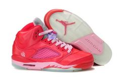 the latest 24d94 c4d2a More and More Cheap Shoes Sale Online,Welcome To Buy New Shoes 2013 Air  Jordan 5 V Retro Womens Shy Red Pink  Discount Shoes - Air Jordan 5 V Retro  Womens ...