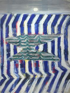 John Walker, Brake II, 2011-14, 48 x 36 inches (courtesy of Alexandre Gallery)
