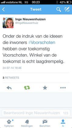 #TVV2025 Wethouder Nieuwenhuizen laat via Twitter weten wat zij van Winkel vindt.