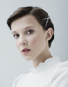 Millie Bobby Brown (From the hit Stranger Things as 011)