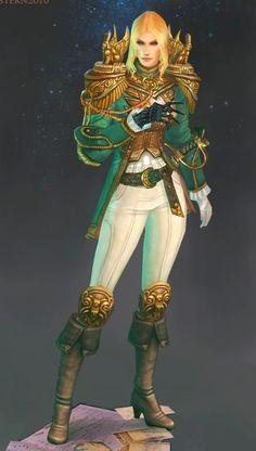 Character Concept, Character Art, Character Design, Battlefleet Gothic, Rogue Traders, Warhammer 40k Art, Fantasy Rpg, Space Marine, Sci Fi Art