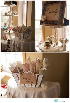 7 Ideas for a DIY Vintage Bridal Shower - Un-Jersey Bride | Un-Jersey Bride