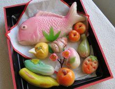 山形県鶴岡市の信濃屋菓子店 の上生菓子
