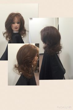 The final and styled look of the Barrel Curls, used my styling brush to brush out. #aveda #douglasj