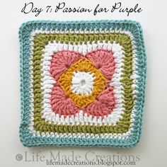 love this for a dishcloth