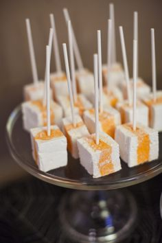 Halloween marshmallows: http://www.stylemepretty.com/living/2015/10/31/our-favorites-for-a-spooky-dessert-table-just-in-time-for-halloween/ | Photography: Katie Parra - http://katieparra.com/