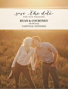Photo Postcard Save the Date #savethedate #photosavethedate