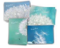 """8 petites cartes de voeux """"merci"""" - fleur de pisse de COULEURS DE NATURE sur DaWanda.com"""