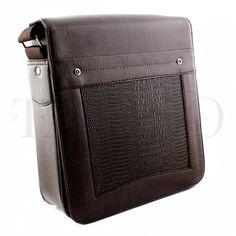 Pánská taška přes rameno - Tannis, hnědá se vzorem Bags, Fashion, Handbags, Moda, Fashion Styles, Fashion Illustrations, Bag, Totes, Hand Bags