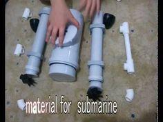HOMEMADE SUBMARINE, HOMEMADE ROV SUBMARINE - YouTube