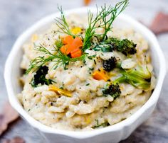 No Face Plate: Creamy Fall Vegetable Risotto