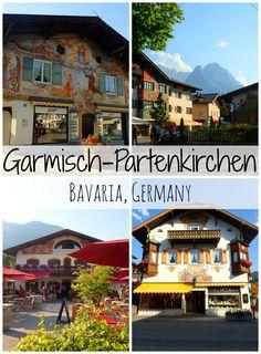 Garmisch-Partenkirchen in Bavaria, Germany