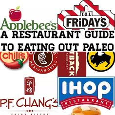 A compilation of popular paleo restaurants and paleo-friendly menu options for you to choose from while eating out. A compilation of popular paleo restaurants and paleo-friendly menu options for you to choose from while eating out. Keto Restaurant, Restaurant Guide, Fast Healthy Meals, Healthy Eating, Healthy Foods, Clean Eating, Clean Foods, Keto Foods, Salud