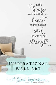 Inspirational home decor that is sure to enhance your space. Each of us live with life's challenges, but home is where we come together to regroup. This beautifully designed wall art comes in 2 sizes and an array of color options to choose from.