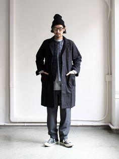 Japan Fashion, Mens Fashion, Fashion Outfits, Fasion, Men Street, Street Wear, Street Trends, Outdoor Men, Japanese Men