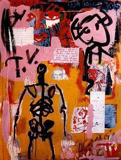 Artist Jack Babiloni /  DEMASIADA TV  1996 Too much tv by UCRONIA, €450.00