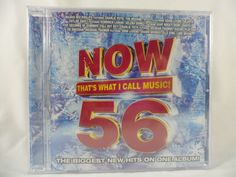 Now That's What I Call Music Vol.56 (CD 2015) Ed Sheeran New Sealed #Rap