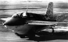 The messerschmitt Me 163 was of all aircraft engaged in World War II the most radical en indeed futuristic.The concept of a short range local defence interceptor powered by an rocket engine was certainly more than valid and might have been more than a thorn  in the Allies side than it was