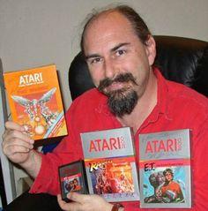 O programador Howard Scott Warshaw, que criou jogos bem-sucedidos de Atari, reinventou-se profissionalmente como psicólogo (Foto: Arquivo pessoal)