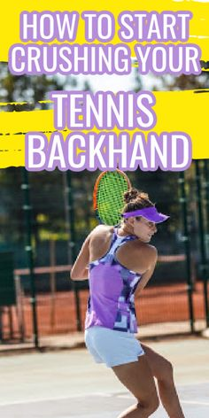 The best tennis backhand drills to improve your one or two handed backhand, Learn what grip to use and simple tennis tips to improve your backhand technique.