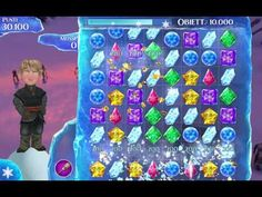 Frozen Gems gameplay 1-10 levels | Frozen | Disney | Gems | Child Game
