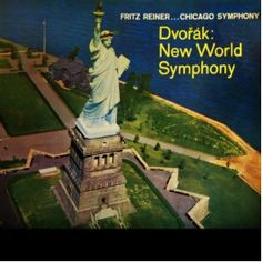 """DVORÁK: Symphony No.9 in E minor, Op.95 """"From the New World"""". Like James Levine conducting the Chicago Symphony Orchestra (RCA: 4552) ."""