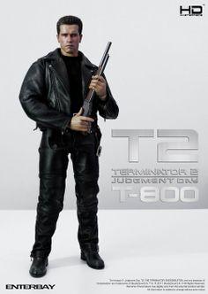 Terminator T2 . T-800 HD Action sản phẩm HD Action đầu tiên trên toàn thế giới và là sản phẩm bán chạy nhất năm 2011 của Enterbay
