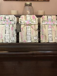 Hymnal page crosses distressed look, pink florals, Christian art, favorite church hymns, recycled hymnals on salvaged wood by DDOvercastHandmades on Etsy Sheet Music Crafts, Sheet Music Art, Piano Music, Christian Crafts, Christian Art, Cross Crafts, Book Crafts, Easter Cross, Easter Art